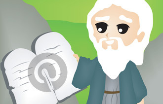 The 10 Commandments of Using Pinterest for Business (Infographic)   Pinterest SEO   Scoop.it