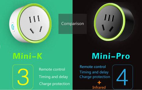 Konke Mini K and Mini Pro Wifi Smart Sockets are Based on ESP8266 SoC | Embedded Systems News | Scoop.it
