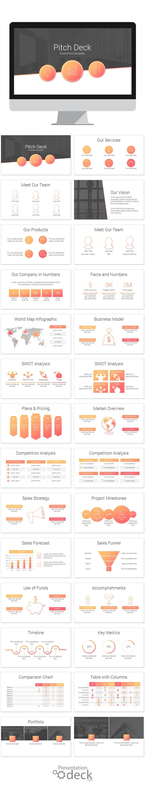 Powerpoint templates scoop pitch deck powerpoint template alramifo Images
