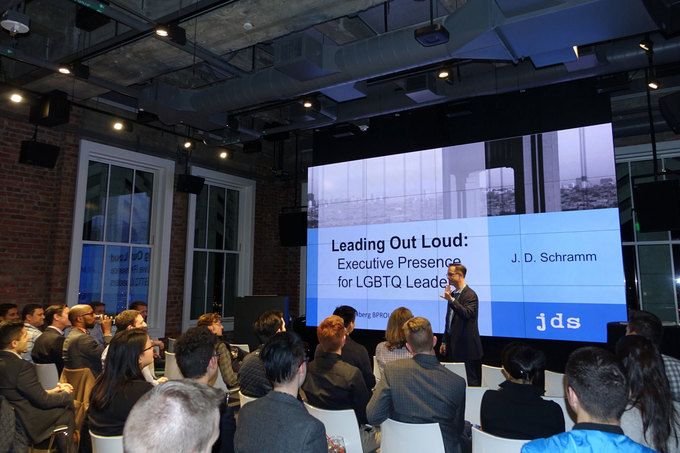Leading out loud: Executive presence and communication for LGBT leaders
