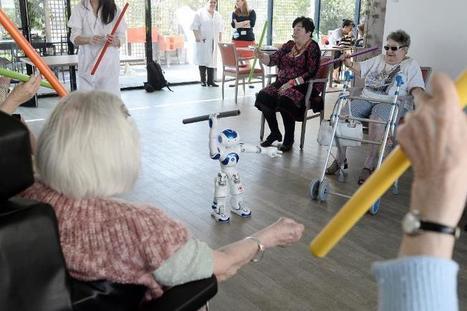 Le robot Zora fait ses débuts de coach pour seniors dans une maison de retraite. | DOMOCLICK - L'innovation dans l'habitat | Hightech, domotique, robotique et objets connectés sur le Net | Scoop.it