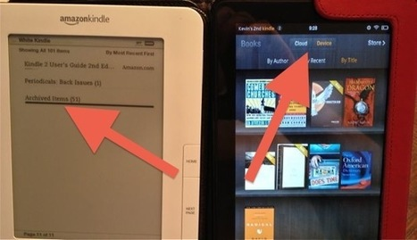 Kindle Fire Handles Archived Books Differently Thank Other Kindles | eBooks in Libraries | Scoop.it