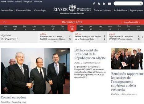Le choix du CMS Open Source SilverStripe pour le nouveau site Elysee.fr | Informatique | Scoop.it