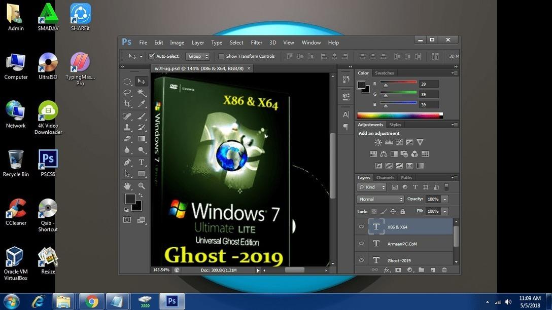 Windows 7 (X86 & X64) Office Edition+Driver