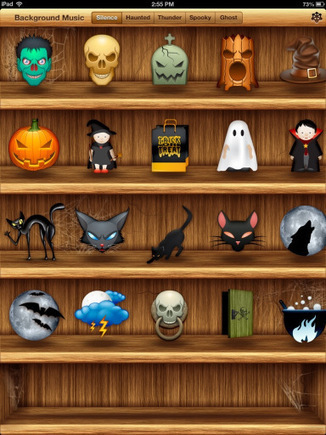 Appdapted: Halloween Themed Apps (updatedlist) | Apps for Special Education | Scoop.it