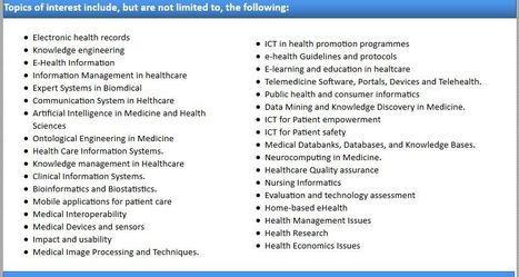 Health Informatics - An International Journal (