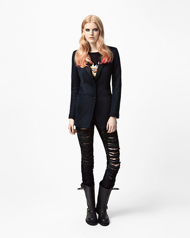 Dondup | Lookbook women's Limited Pop Edition collection 2012/13 | Le Marche & Fashion | Scoop.it
