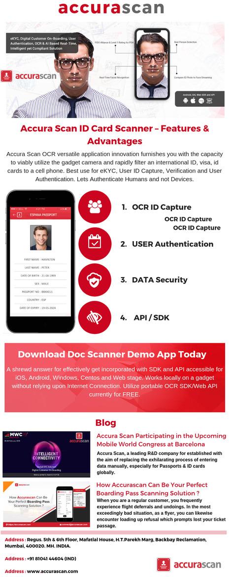 Accura Scan Passport Scanner App – ID Car