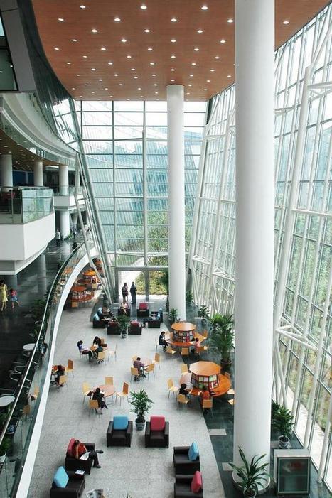 Bibliothèque de Chongqing, en Chine. - Paperblog | Bibliothiki | Scoop.it