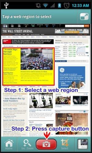 Websnap - Web capture,Web widget | Las TIC en el aula de ELE | Scoop.it