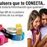 Pulsera Social código QR