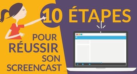 10 ETAPES pour réussir son SCREENCAST | ICT-Unterrichtsideen | Scoop.it
