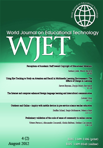 World Journal on Educational Technology | iEduc | Scoop.it