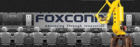 L'enjeu de la robotique pousse Google et Foxconn à se rapprocher | Libertés Numériques | Scoop.it