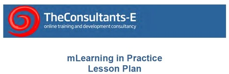 mLearning Lesson Plans | m-learning, mobile Learning, Teaching and Learning on the Go | Scoop.it