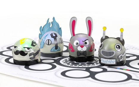 8 Great Learn To Code Toy Robots For Kids @avatargeneration | Differentiated and ict Instruction | Scoop.it