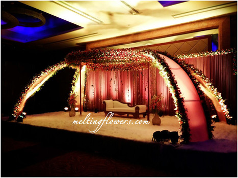 Wedding Stage Decoration In Wedding Decorations Marriage