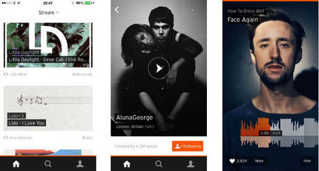 SoundCloud revamps its iPhone app and hints at plans for music payouts (Interview)   Musical Industry   Scoop.it