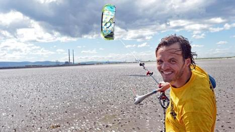 Kitesurfing with a French accent - Irish Times | Travel Bites &... News | Scoop.it