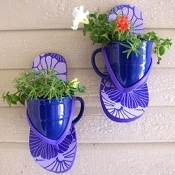 Wall planters | Upcycled Garden Style | Scoop.it