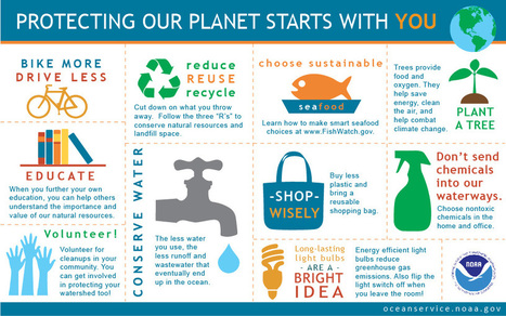 Protecting Our Planet Starts with You | Inspirational Infographics | Scoop.it