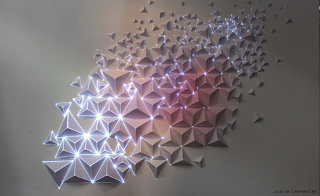 Origami Meets Projection Mapping | PROYECTO ESPACIOS | Scoop.it