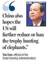 China to have timetable by year's end to cease all domestic trade in ivory|Top Stories|chinadaily.com.cn | Wildlife Trafficking: Who Does it? Allows it? | Scoop.it
