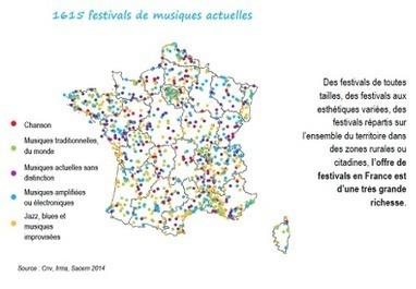 La France et la richesse de ses festivals de musiques actuelles | Musiques Actuelles, Amplifiées | Scoop.it