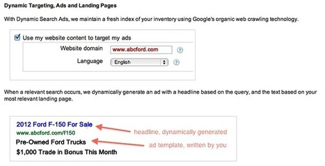 Google Adwords To Provide VIN# Level PPC Campaigns - Internet Sales Managers Community   Automotive E-Commerce   Scoop.it