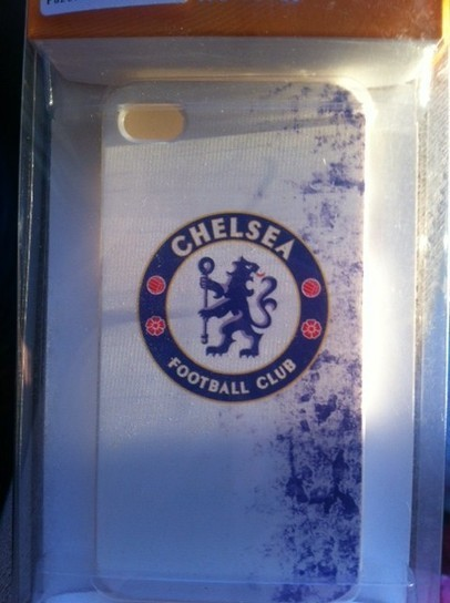 Chelsea FC iPhone 4 / 4S case (White) | Apple iPhone and iPad news | Scoop.it