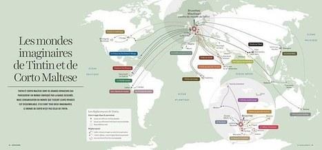 Une nouvelle cartographie pour un monde global | Géographie : les dernières nouvelles de la toile. | Scoop.it