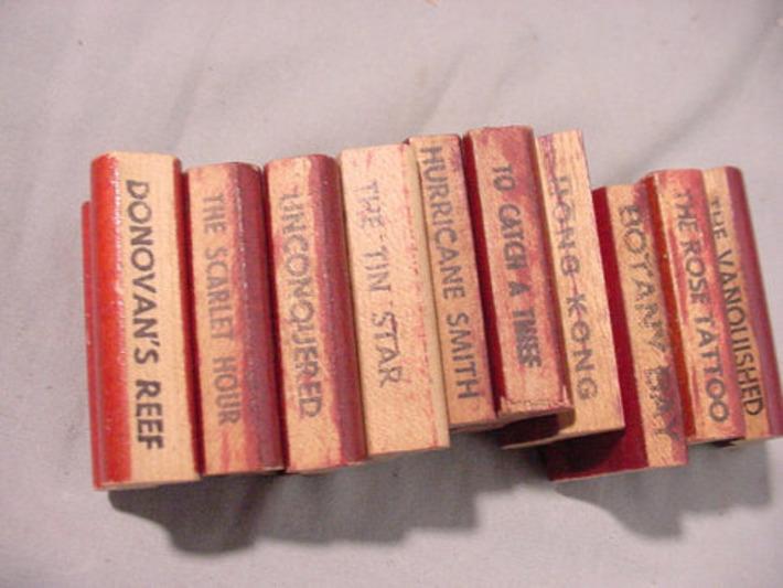 Movie Titles Rubber Stamps, 10 pieces, See Description for Titles | Antiques & Vintage Collectibles | Scoop.it
