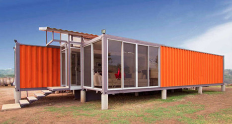 12 Homes Made From Shipping Containers | curating your interests | Scoop.it