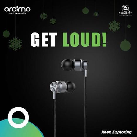 40e475878ff Oraimo Earphones - Range of Audio Accessories by Oraimo