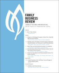 Winners of the 2014 Best Paper Award from Family Business Review! | Yrittäjyystutkimuksen poimintoja | Scoop.it