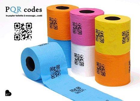 PQR codes, le papier toilette codé   Prionomy   Scoop.it