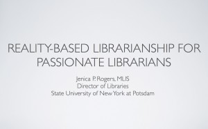 Reality-based Librarianship for Passionate Librarians at Attempting ... | innovative libraries | Libraries and social media | Scoop.it