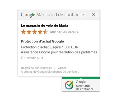 Adoptez le badge Google Marchands de confiance sur votre site eCommerce - #Arobasenet   Web, E-tourisme & Co   Scoop.it
