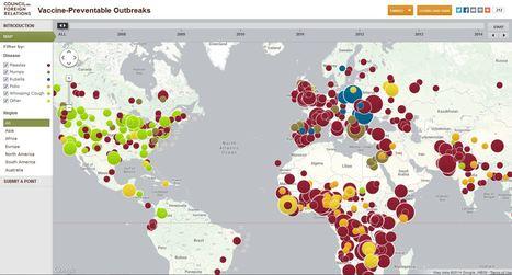 Map: Vaccine-Preventable Outbreaks | Teachers Toolbox | Scoop.it