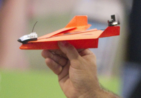 This paper airplane is powered by a motor (and your phone) | Troy West's Radio Show Prep | Scoop.it