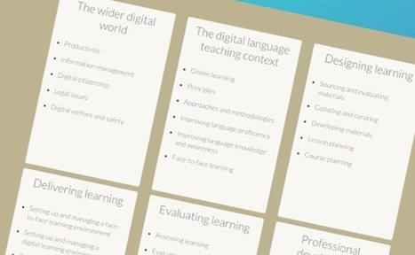 Home - Cambridge English Digital Framework for Teachers   Technology and language learning   Scoop.it