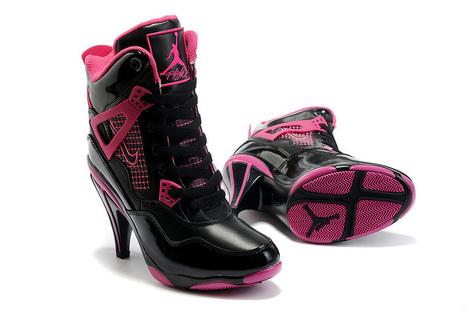 Hot Air Jordan 4 Retro High Heels Black Pink Shoes  Jordan00273  -  88.00    The New Jordan Shoes Online Store Supply All Kinds of Cheap Jordans for Sale 27eb89d236a2