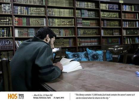 Syrie : ils créent une bibliothèque dans une cave pour sauver les livres de la guerre | Rapprocher les bibliothèques-médiathèques de la vraie vie | Scoop.it