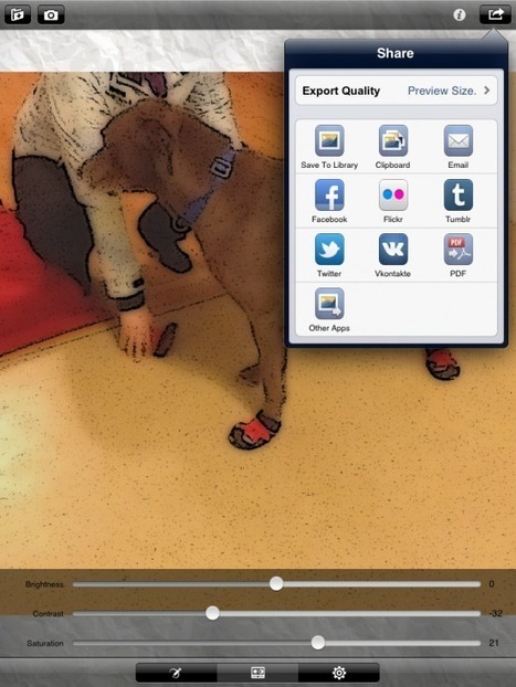 XnSketch Turns Photos Into Cartoons | iPads, MakerEd and More  in Education | Scoop.it