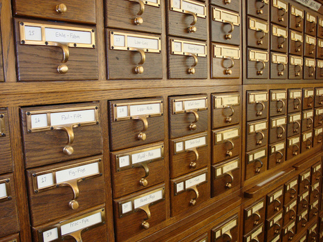 L'organisation des bibliothèques avant les outils numériques | Veille professionnelle des Bibliothèques-Médiathèques de Metz | Scoop.it