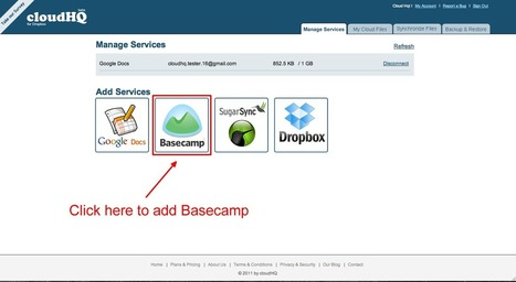 cloudHQ Blog: Instructions to setup sync between Dropbox and Basecamp | Cloud Central | Scoop.it