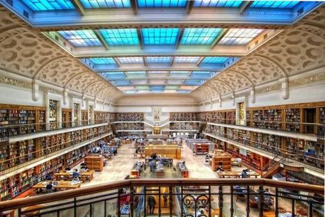Libraries; maintaining a role in the digital world - ABC Online | Library design and architecture | Scoop.it