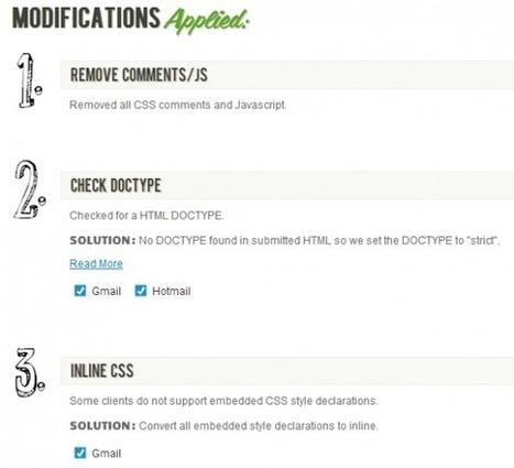 Tester et optimiser l'HTML de vos newsletters | Time to Learn | Scoop.it