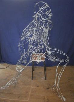 David Oliveira ~ Wire Sculpture #Portugal #Art #Lisbon | No. | Scoop.it