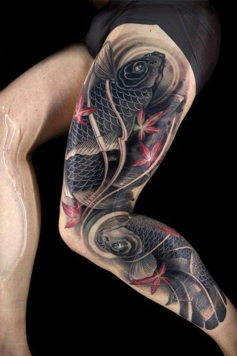 Leg Hot Tattoo Designs Ideas Meaning Pictures G